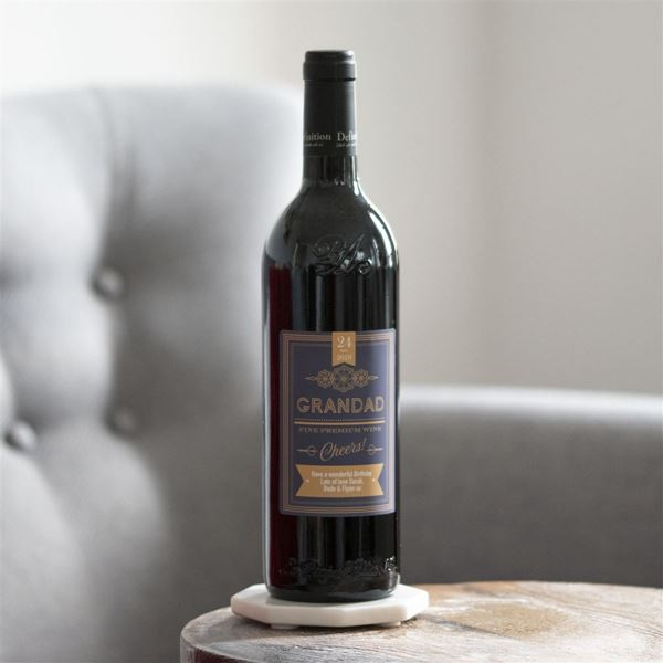 Picture of Personalised Red Wine